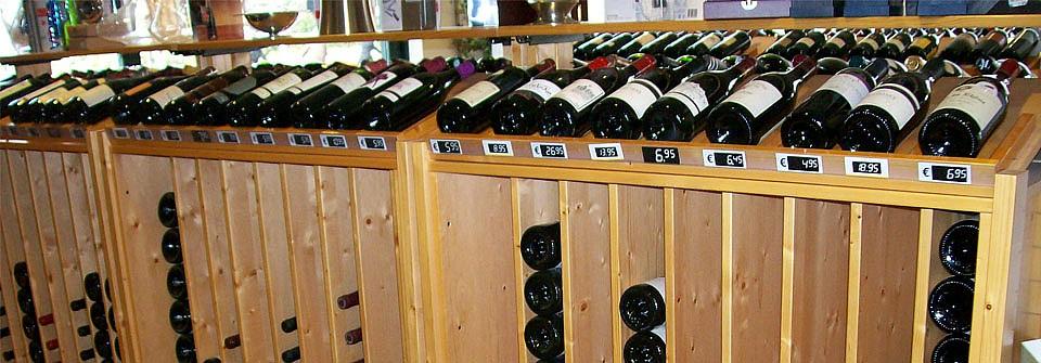 wijnrekken van Quickrack