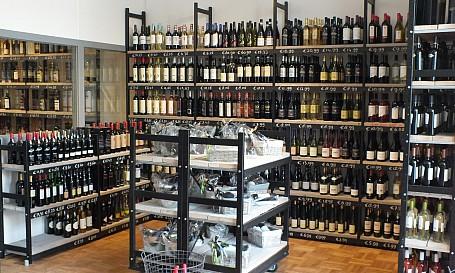 wijn stellingen bottles barrelsproject