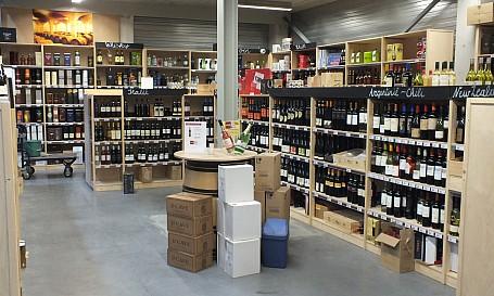 wijnwinkelinrichting de wijnboeren project