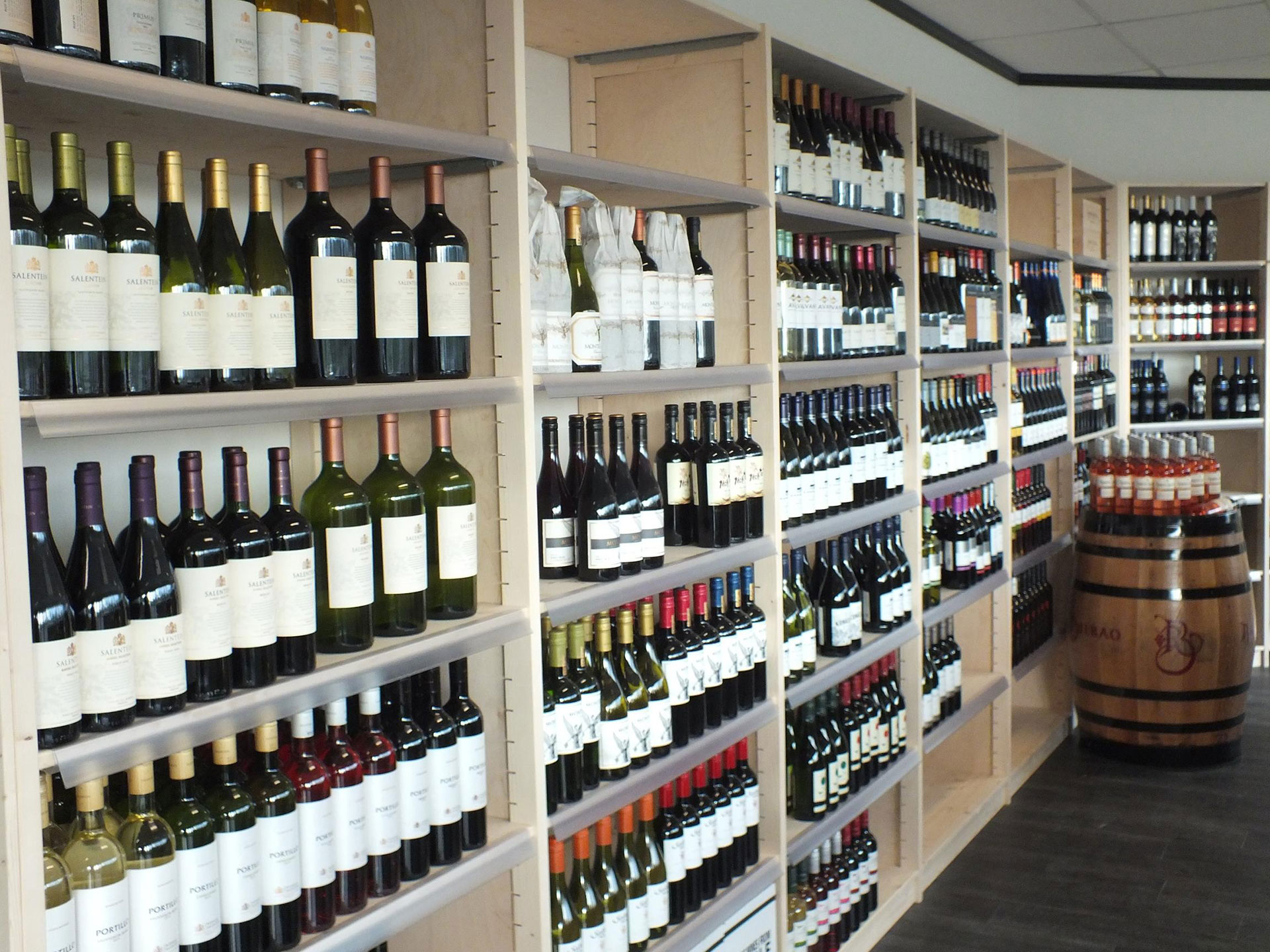 wijnstellingen drankenhandel bouwhuis